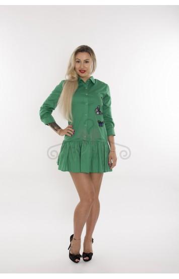 Rochie Verde Butterfly