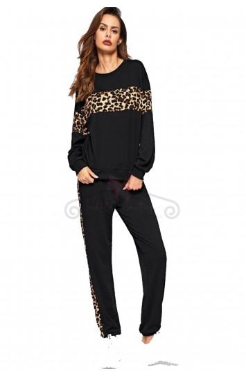 Trening cu imprimeu leopard